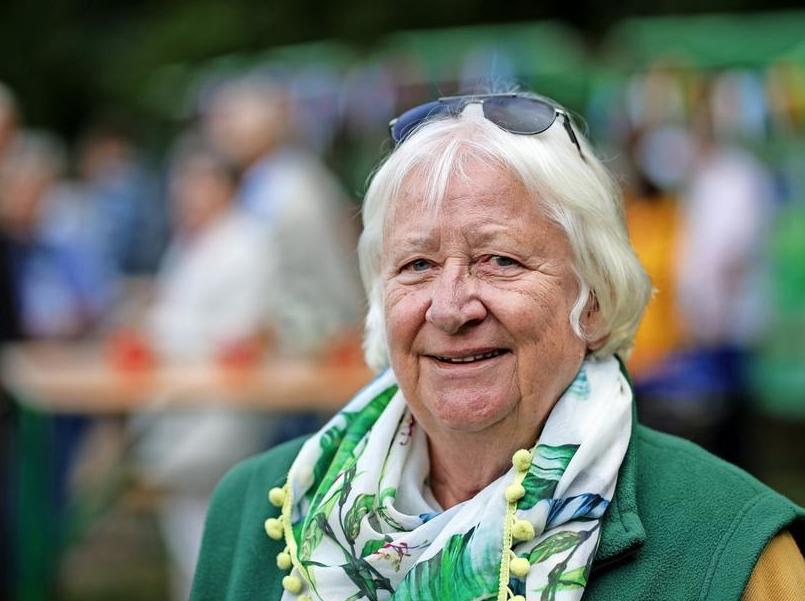 70 Jahre SDW: Erste Vorsitzende Gesine Goltz.  Quelle: Fotograf: Lutz Roeßler