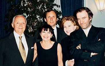 Il Maestro Valery Gergiev a Lugano, 2001