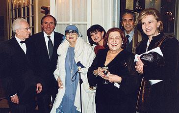 Inaugurazione della mostra sul sorpano Maria Callas - Lugano 1999