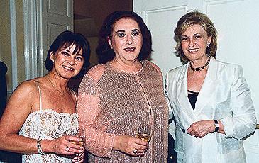Il soprano Ghena Dimitrova a Lugano, 2000
