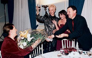 Il soprano Raina Kabaiwanska a Lugano, 2001