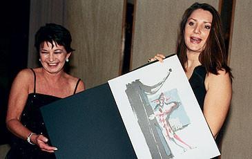 Il soprano Barbara Frittoli a Lugano nel 2003