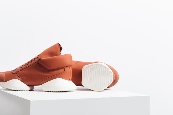 "Adidas X Rick Owens ""Fox Orange"""