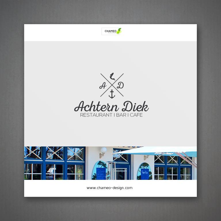 logo and branding design restaurant cafe bar