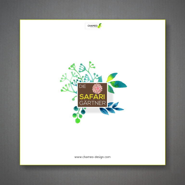 logo and branding design  garden