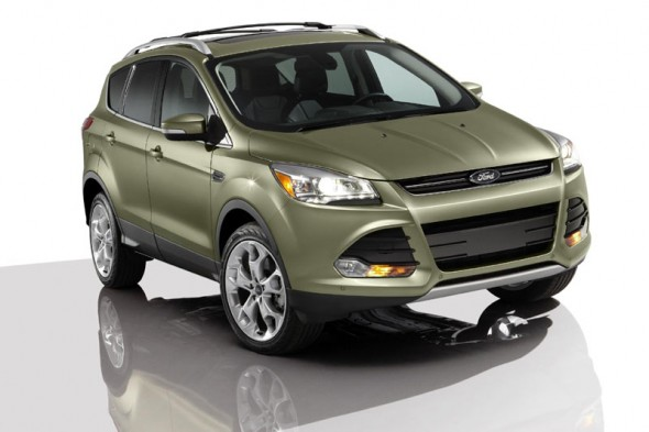 Ford Kuga series car