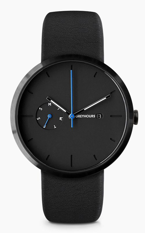 Greyhours - Essential Black