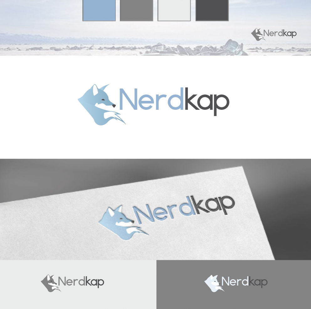 Branding design for an online company