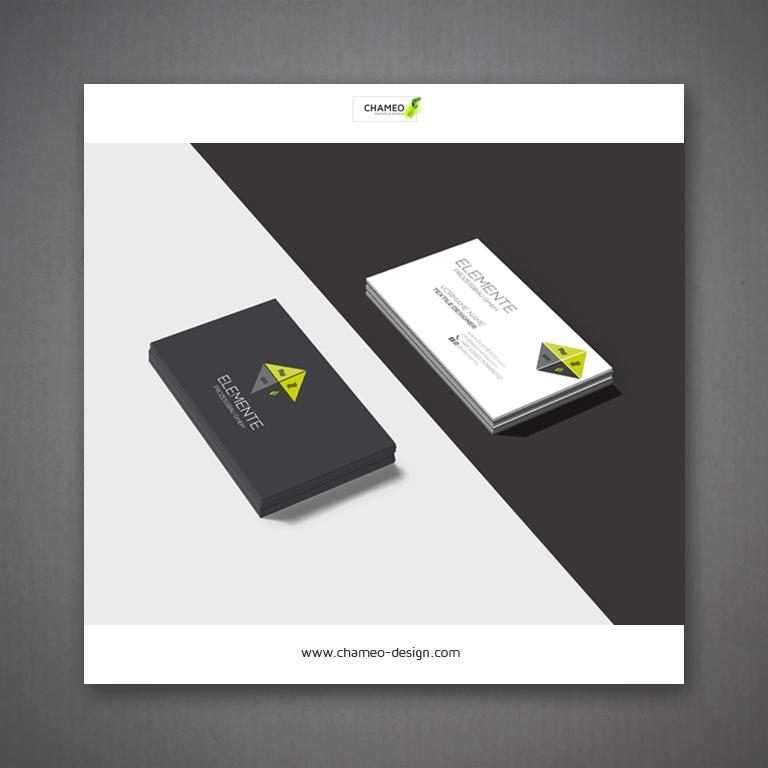 logo and branding design business cards