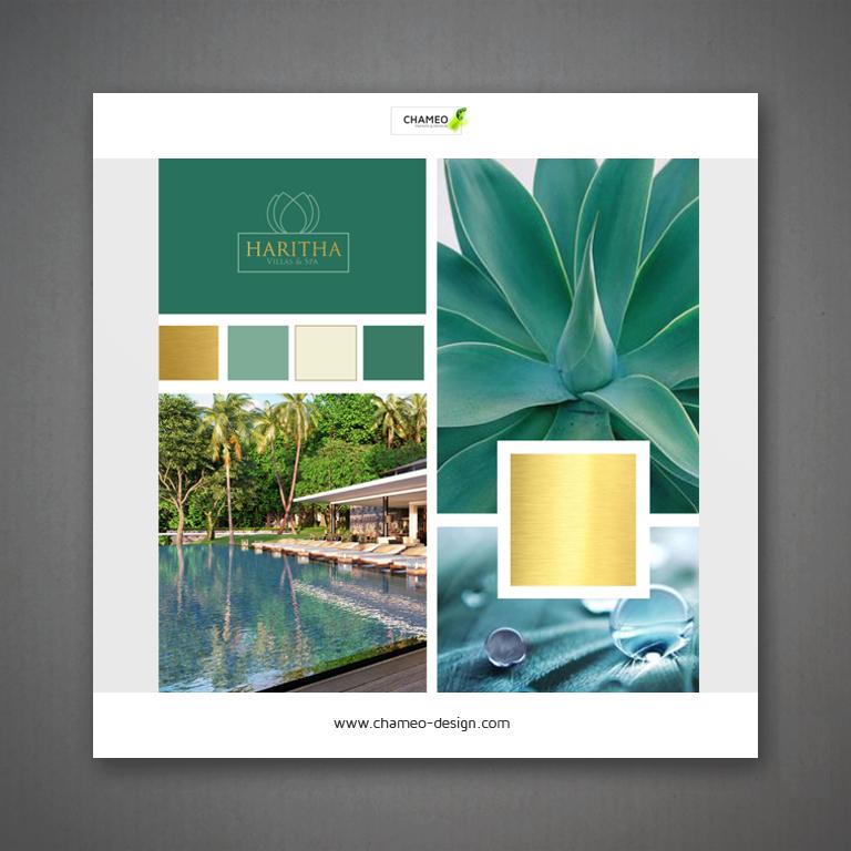 logo and branding design - hotel luxury resort