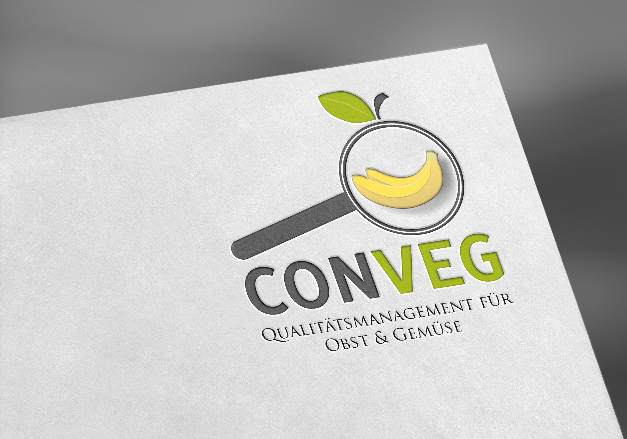 "Branding design for ""Conveg"" quality management for fruit & vegetables"
