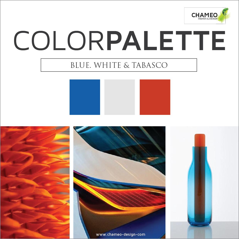 Chameo Design Color palette -CMF Design services