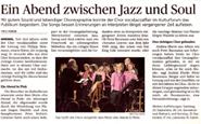 Konzert Amriswil 2014, Thurgauer Tagblatt 17.09.2014
