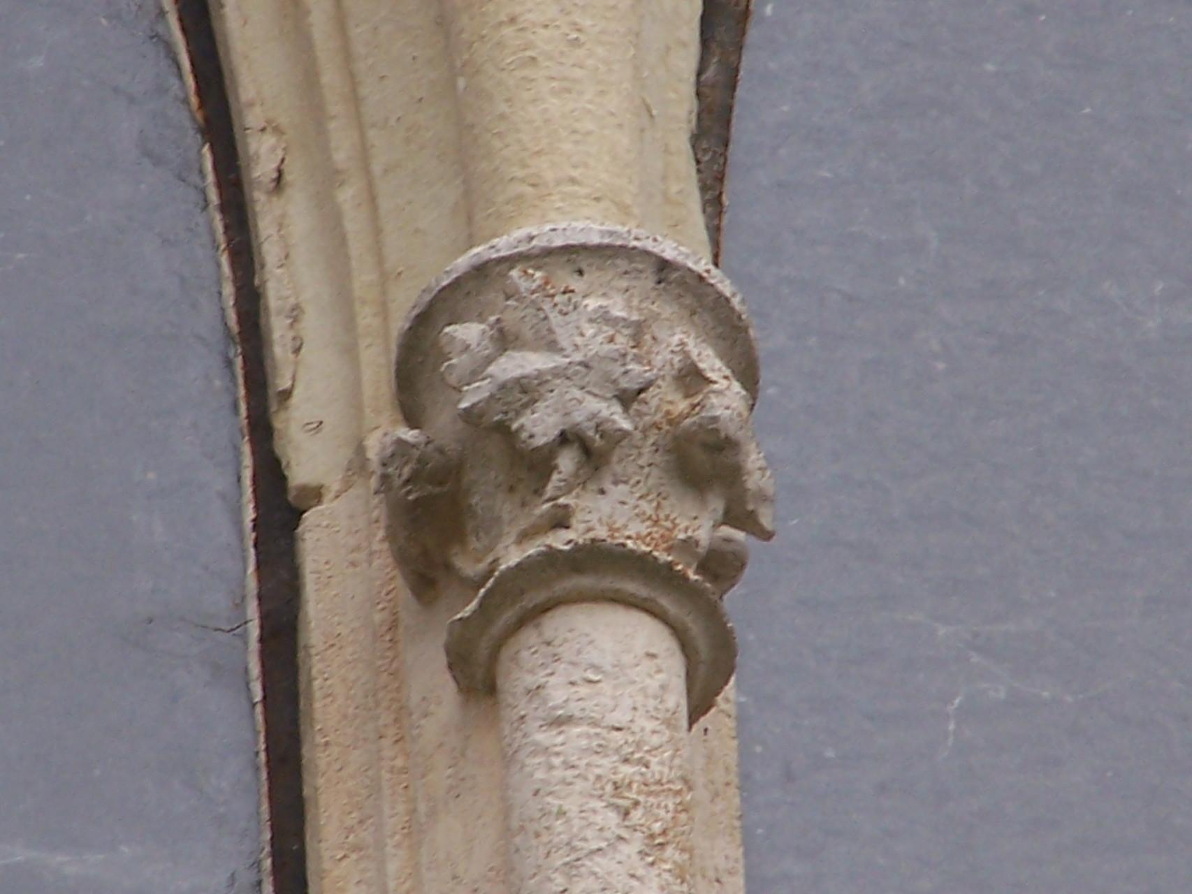 décors de la baie gothique