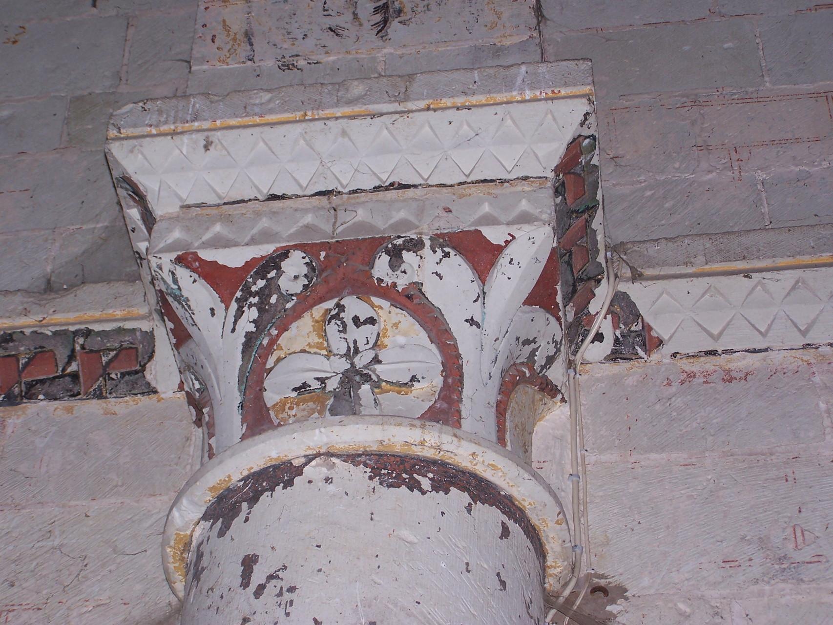Même trèfle qu'à la cathédrale de Poitiers