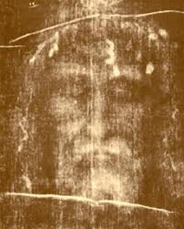 Détail du Saint Suaire