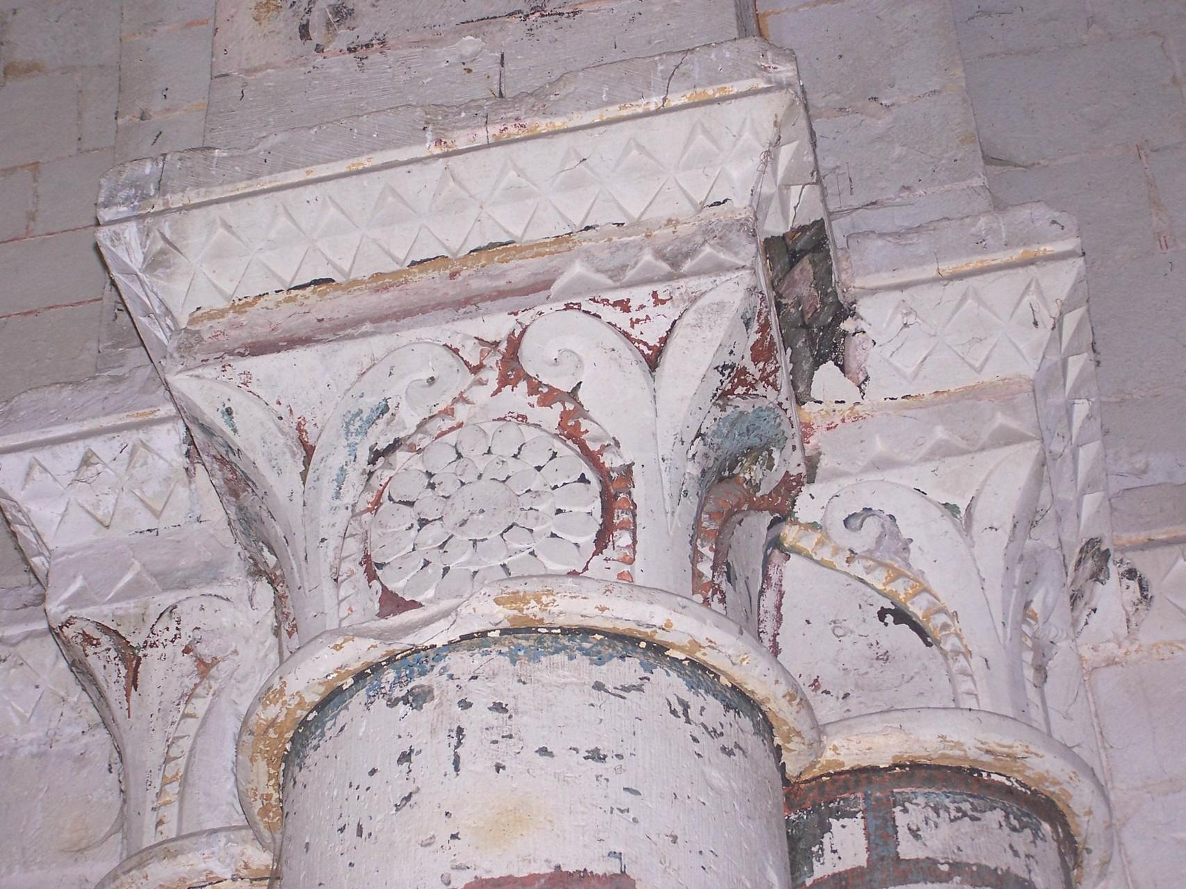 Figure emblématique du chapiteau sud