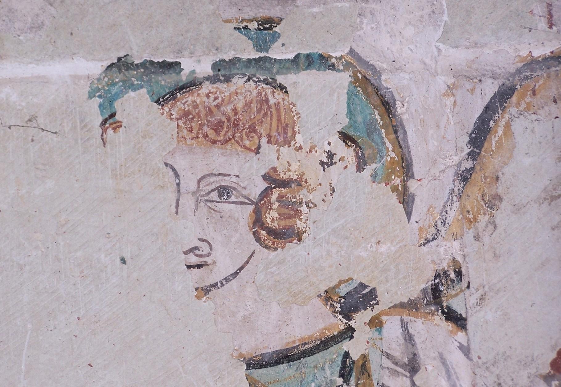 Visage du Christ durant les noces de Cana