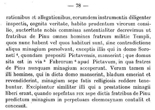 Archives Historiques du Poitou Tome XLIV - 1923 - Documents concernant la ville de Poitiers 1063-1327 - page 78