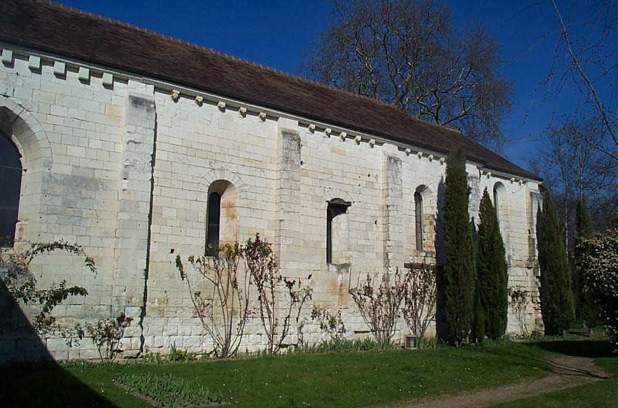 façade sud de la chapelle