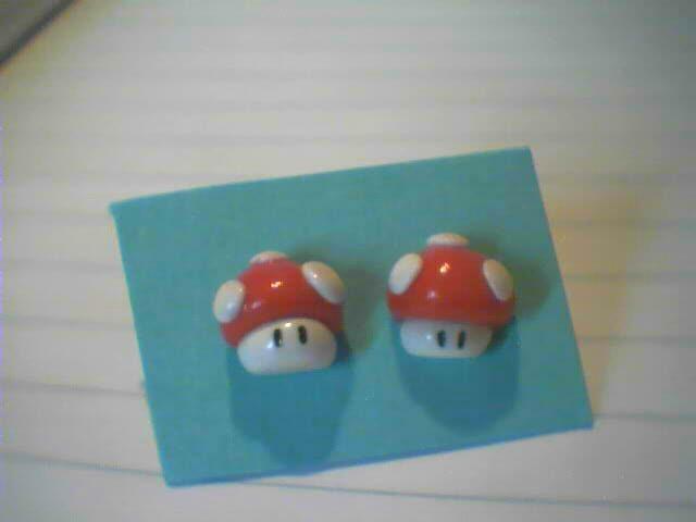 Super Mario, funghetti rossi - 3€