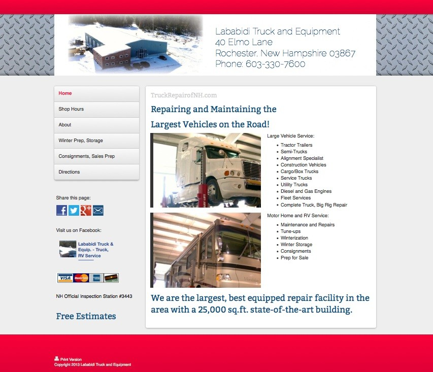 Mechanical Service Websites