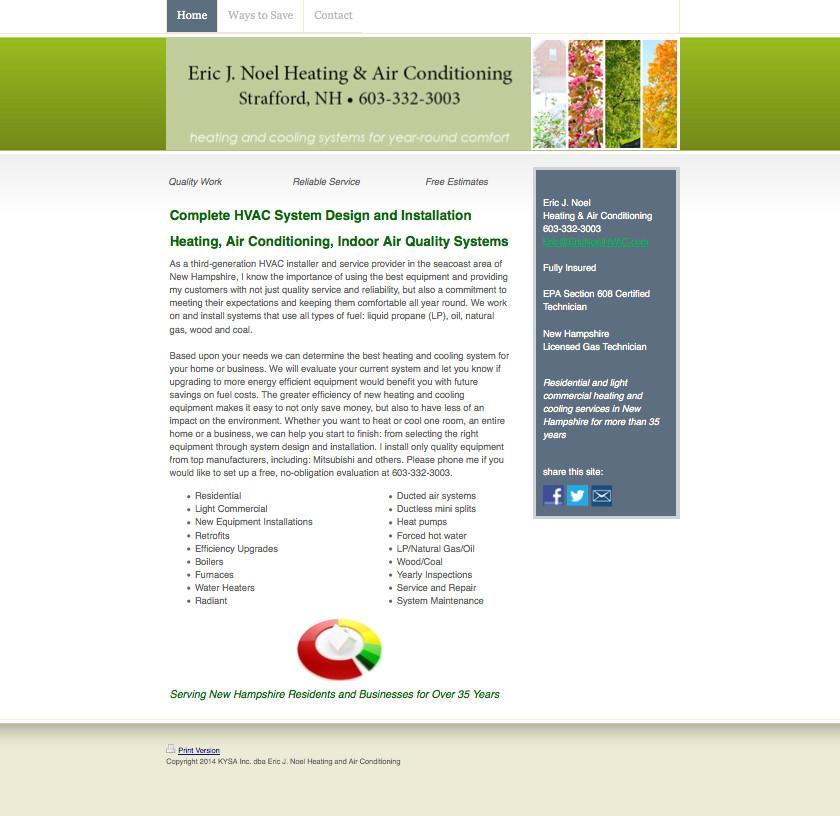 HVAC Contractor Websites