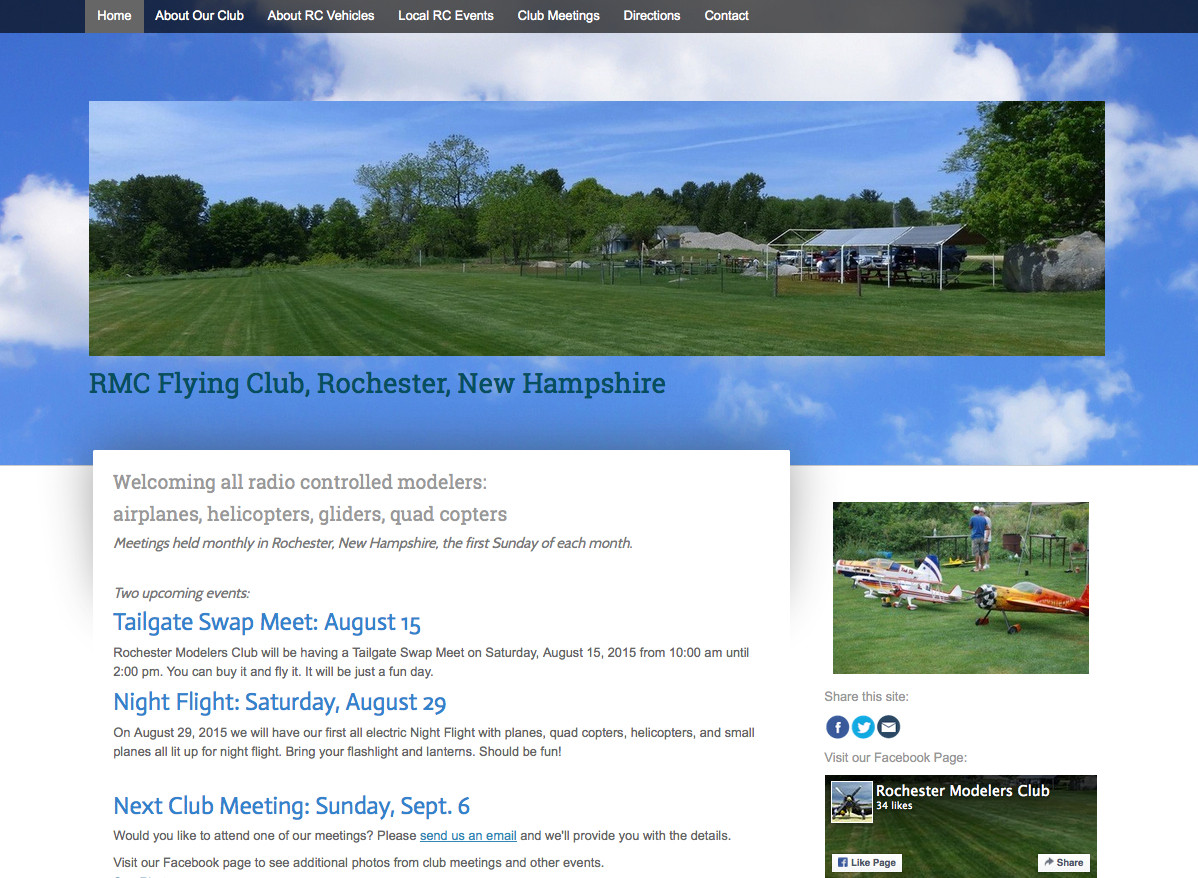 RMC Flying Club Website
