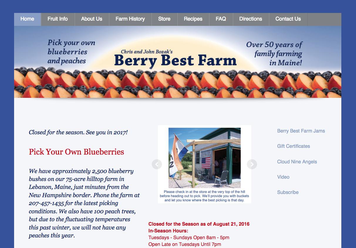Farm, Agritourism Websites