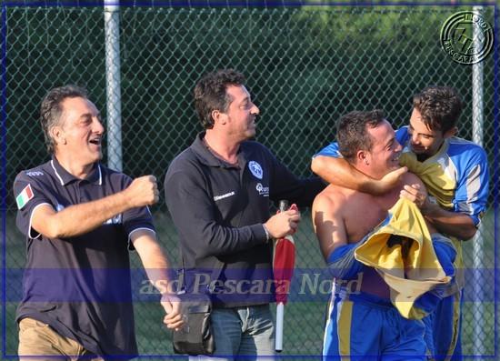 Esultanza Luigi Marchionne (Stagione 2009/10)