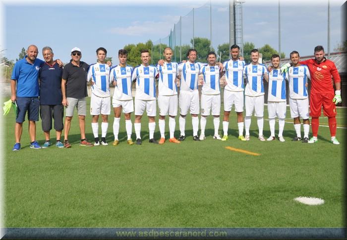 COPPA I turno (R):  Pescara Nord-Angelese 1-1 (Gesuiti)