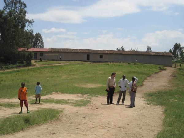 Grundschule Sheke von außen