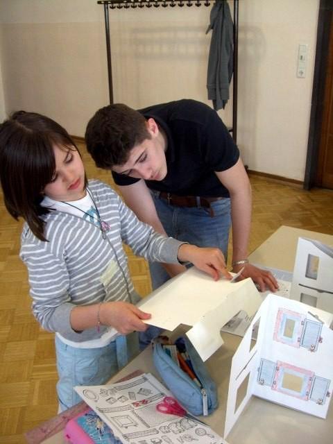 Auch die Zusammenarbeit zwischen Jungen und Mädchen harmonierte wunderbar und diese beiden waren ein gutes Team.