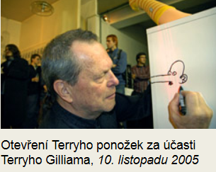 Terry Gilliam in Prag