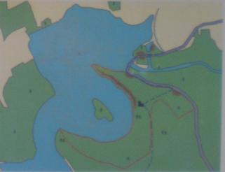 Stausee Seč im Naturschutzgebiet Oheb