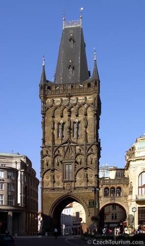 Prag - das Pulverturm