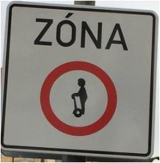 Segway-Verbot in Prag