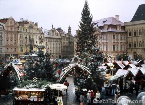 Prag im Winter - Weihnachtsmark