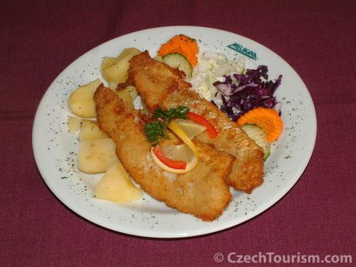 Schnitzel mit Kartoffeln