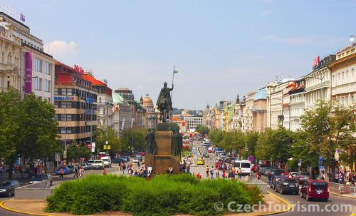 Prag - Wenzelsplatz