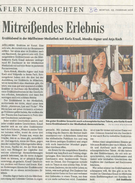 Badische Zeitung - 29. Februar 2016