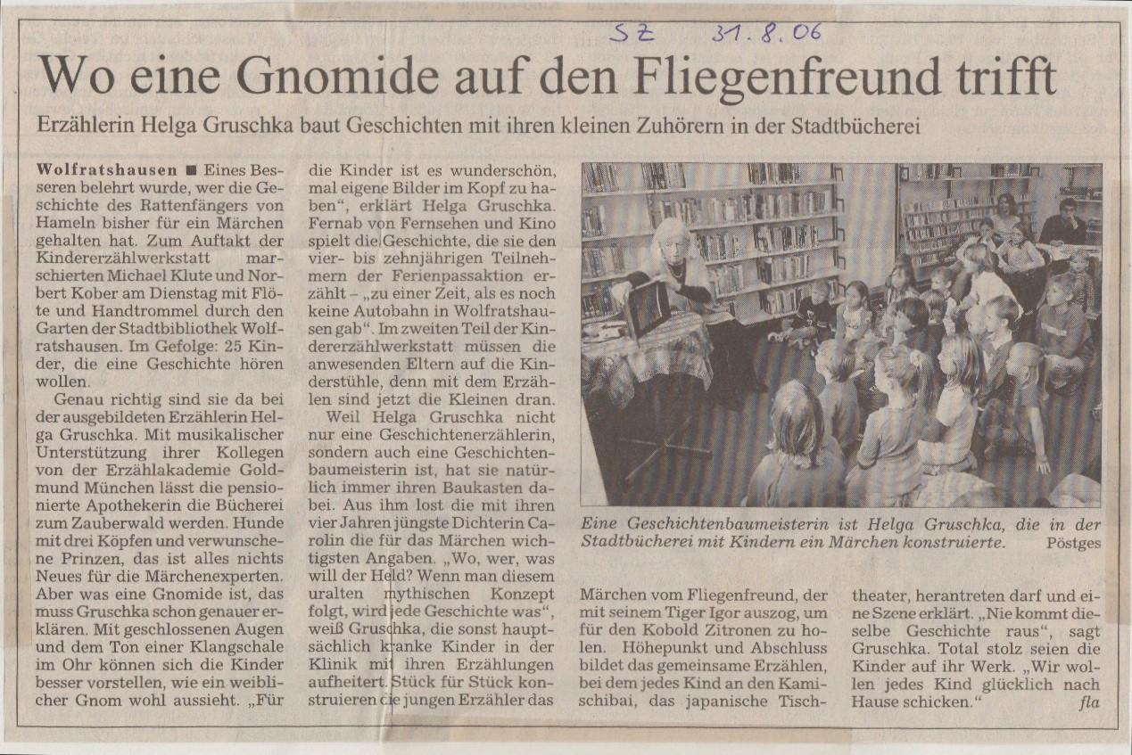 Süddeutsche Zeitung - 08.06.2006