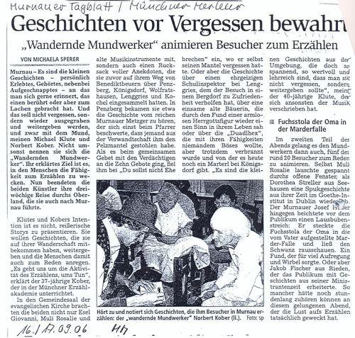 Münchener Merkur - 17.09.2006