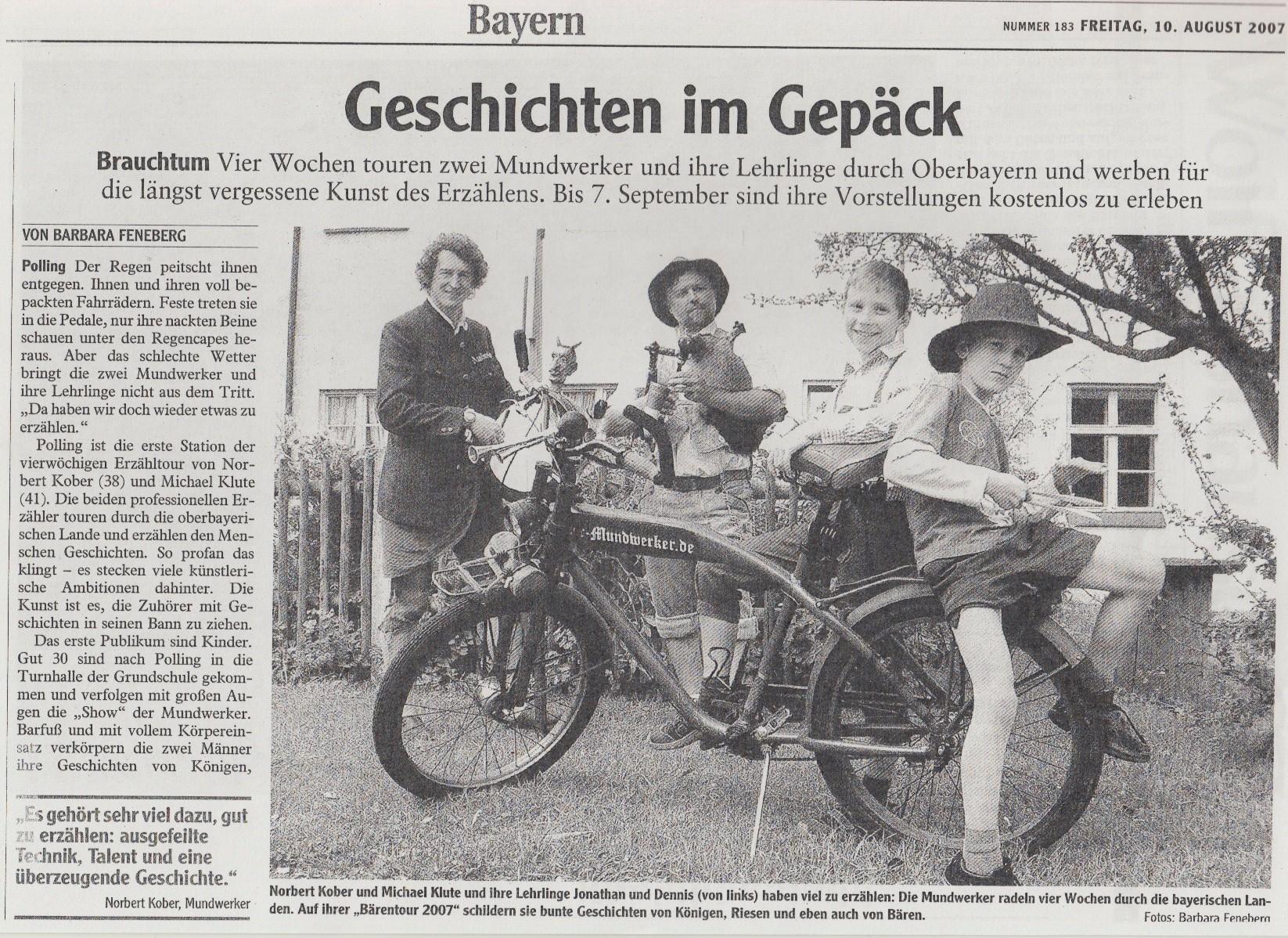 Bayern Magazin - 10.08.2007