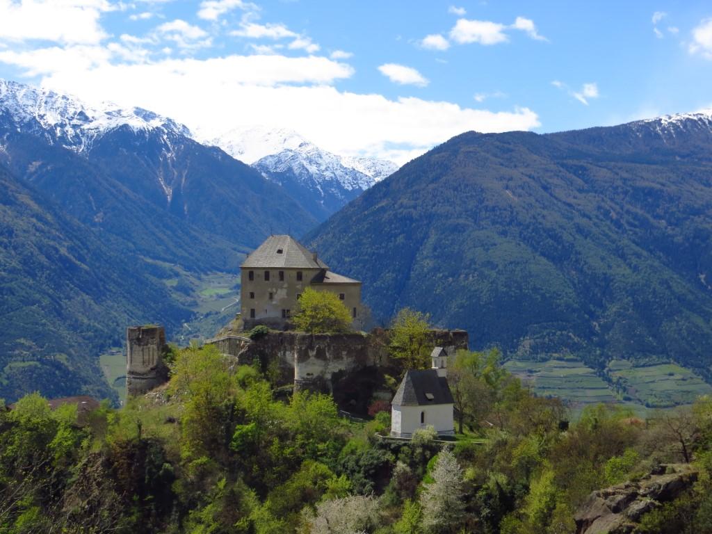 Annaberg, kleine Wanderung vom Schloss aus