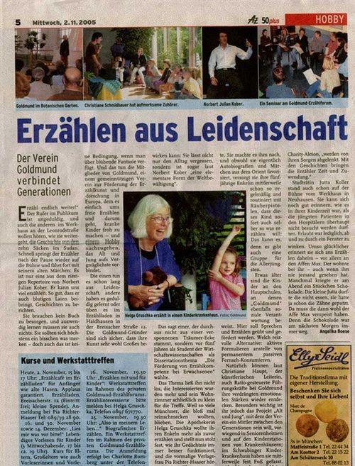 Heimatzeitung - 02.11.2005