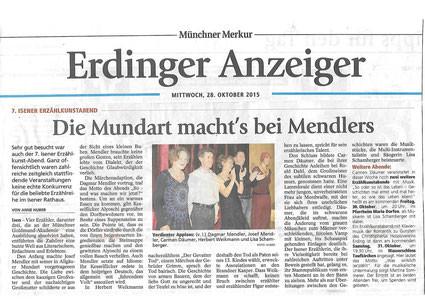 Münchner Merkur - 28. Oktober 2015