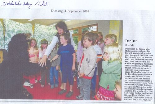 Süddeutsche Zeitung - 04.09.2007