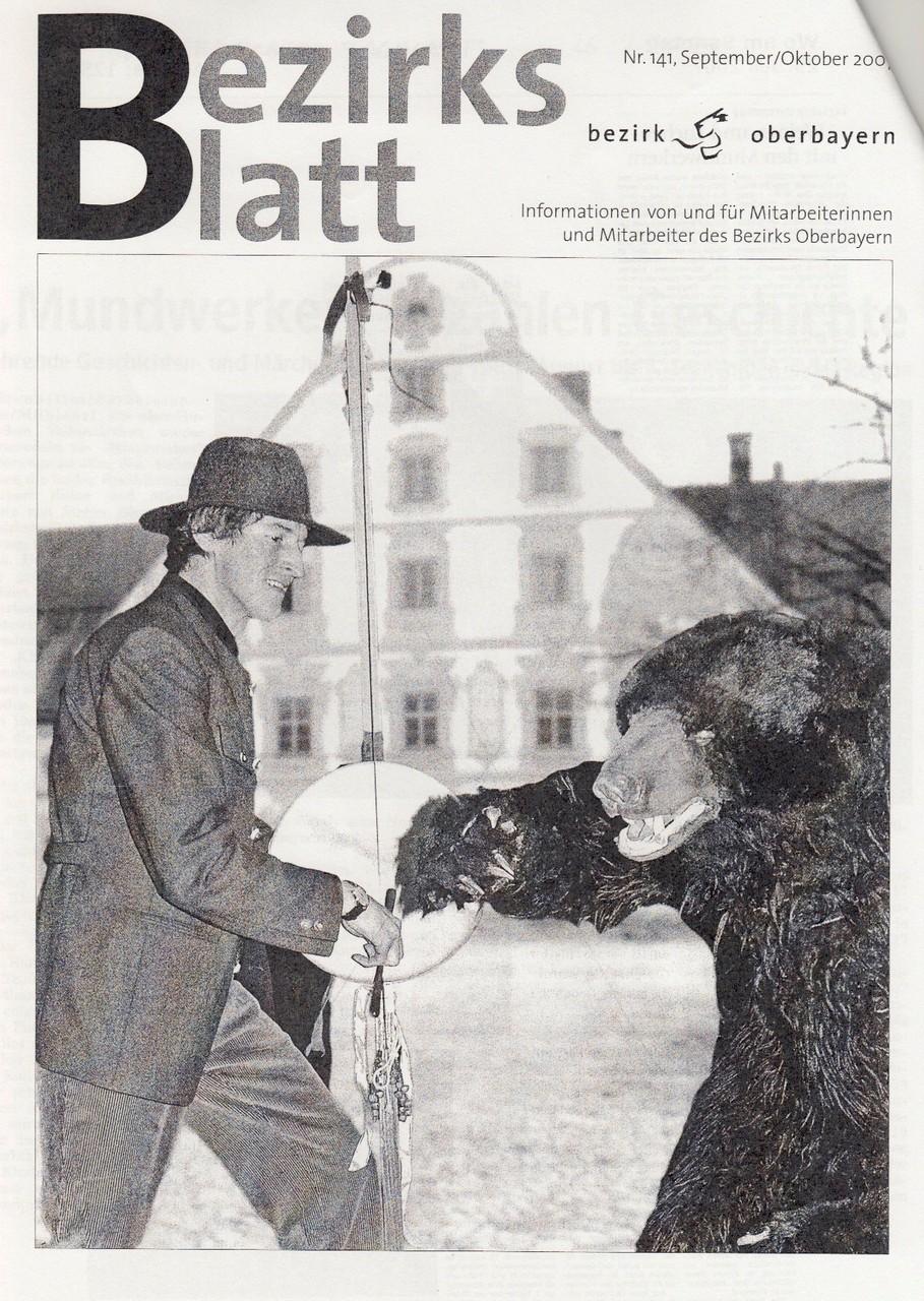 Bezirksblatt Oberbayern -  September 2007 - Titelblatt