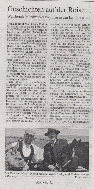 Süddeutsche Zeitung - August 2006